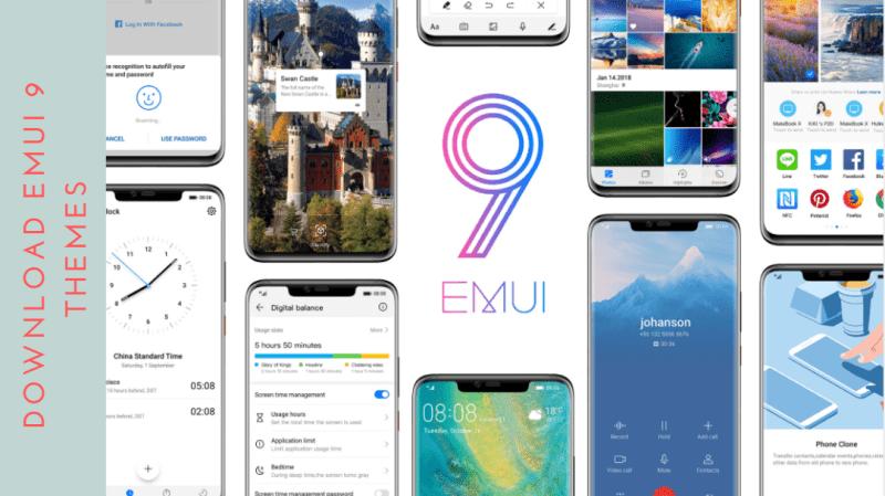 Download Default EMUI 9 Themes For EMUI 5/EMUI 8 Devices