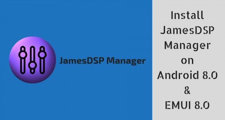 Install JamesDSP Manager ViPER4Android Alternative