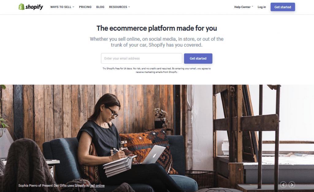 Top 5 Ecommerce Website Builders 3 1024x627