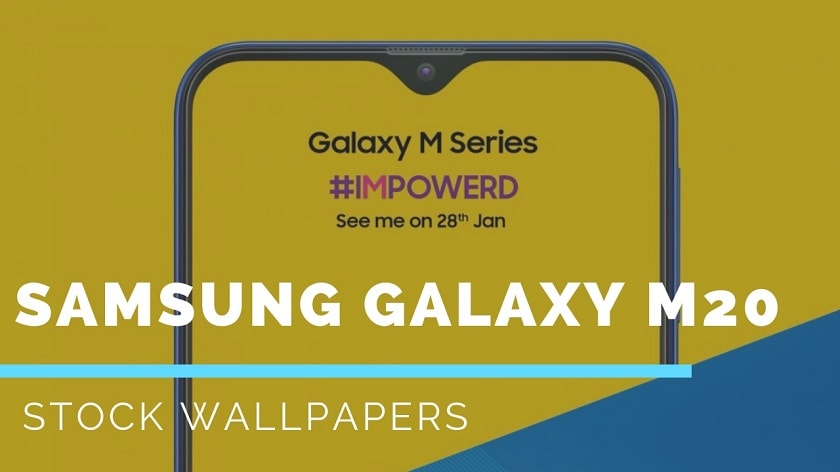 Download Samsung Galaxy M20 Stock Wallpapers Updated
