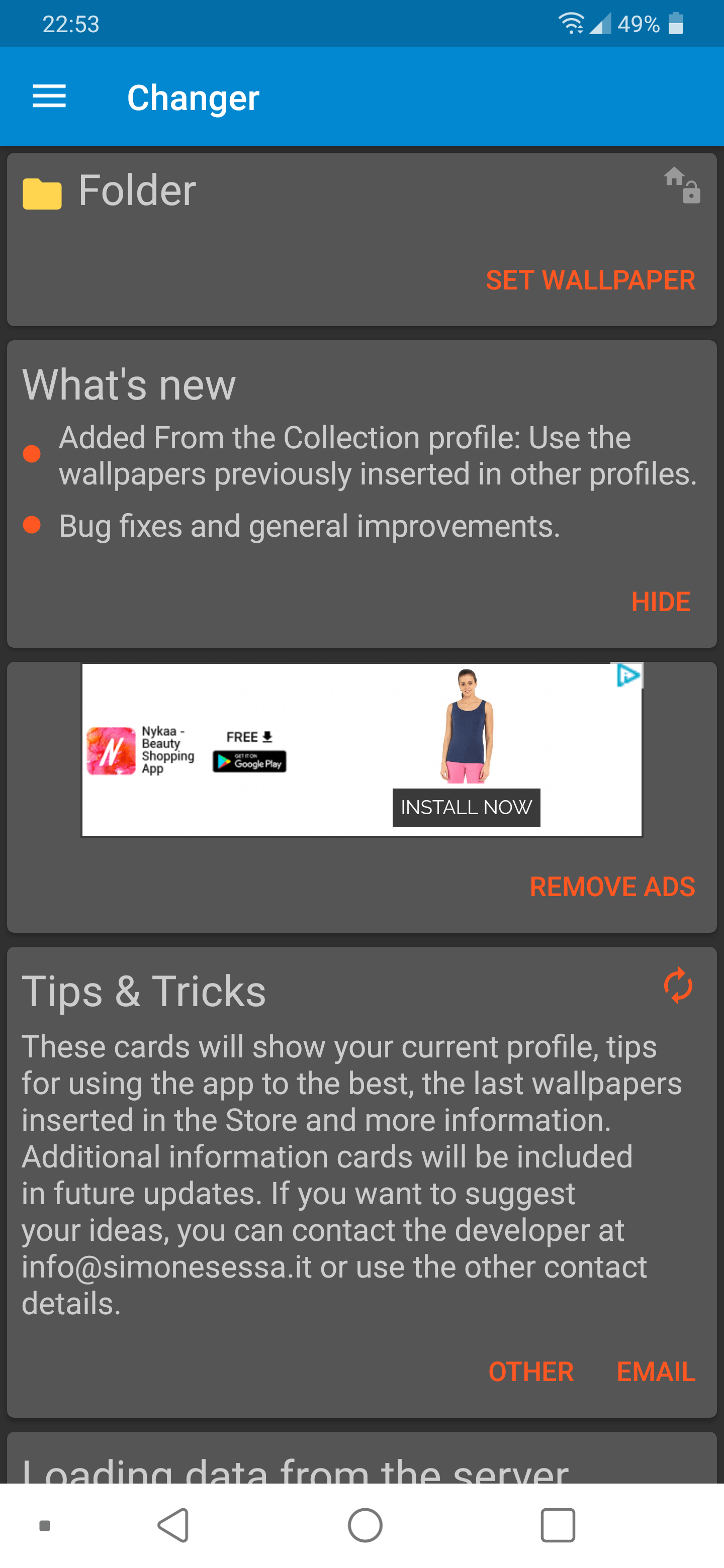 Enable Automatic Wallpaper Changer 9
