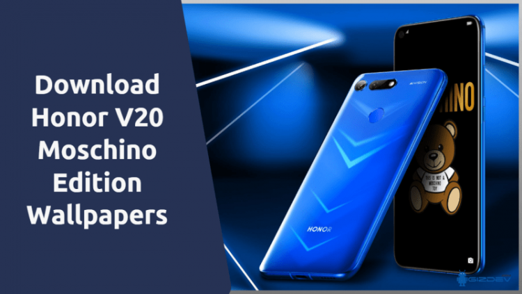 Honor V20 Moschino Edition Wallpapers