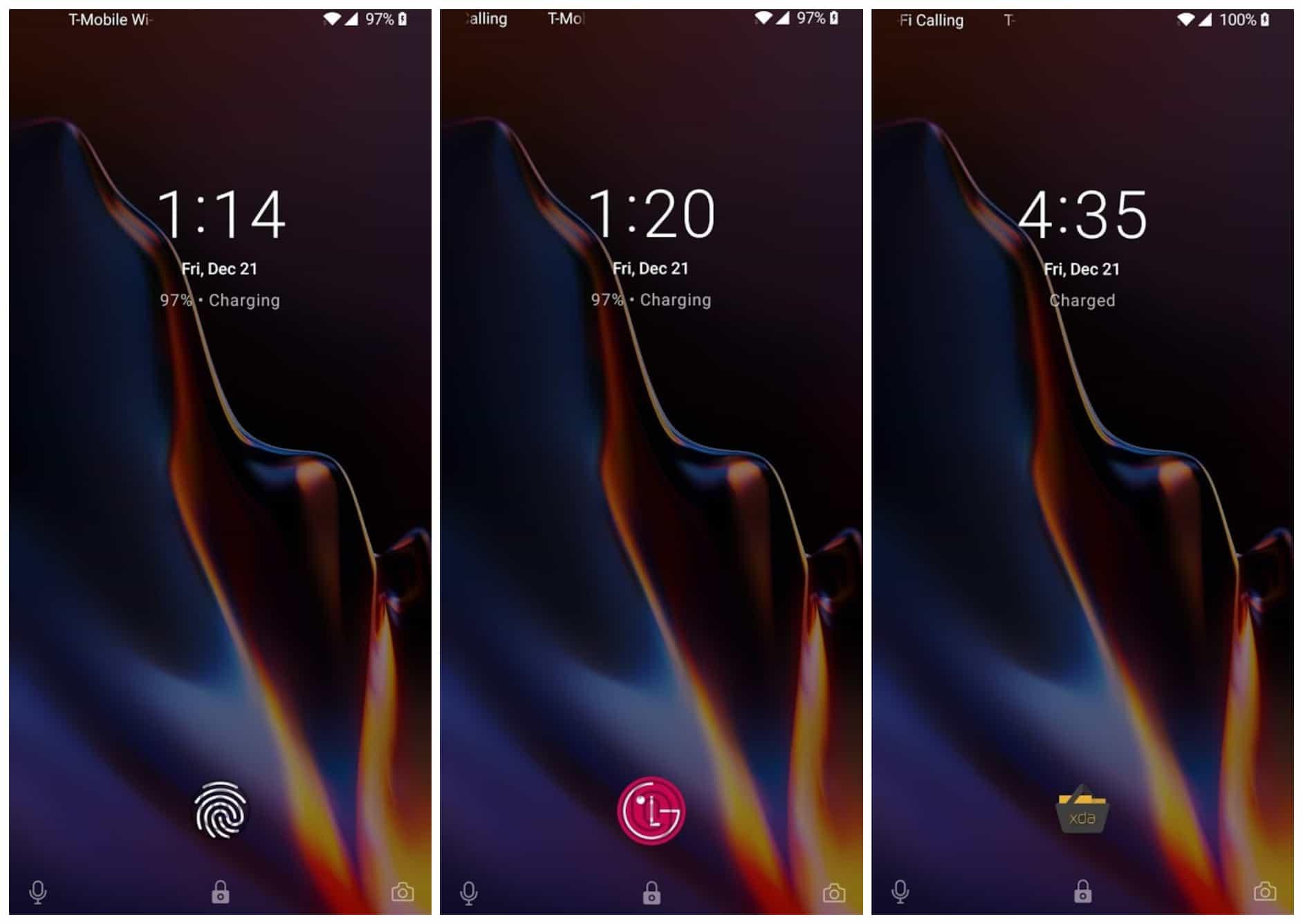 Custom OnePlus 6T Fingerprint Icon