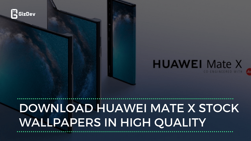 Download Foldable 5G Huawei Mate X Stock Wallpapers