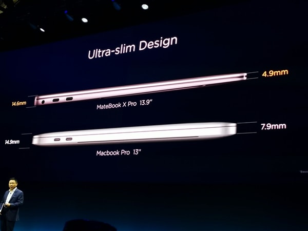 Huawei MateBook X Pro Design
