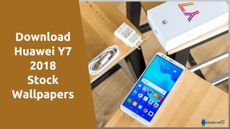 Huawei Y7 2018 Stock Wallpapers
