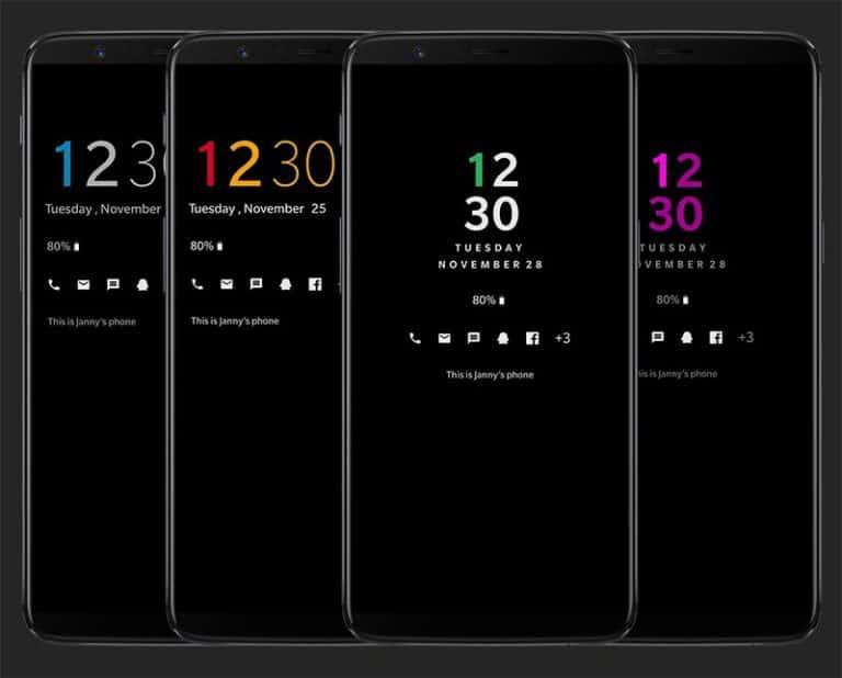 OnePlus AOD Customizer