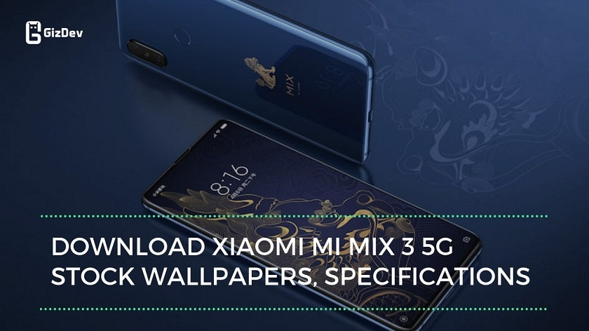 Download Xiaomi MI Mix 3 5G Stock Wallpapers, Specifications