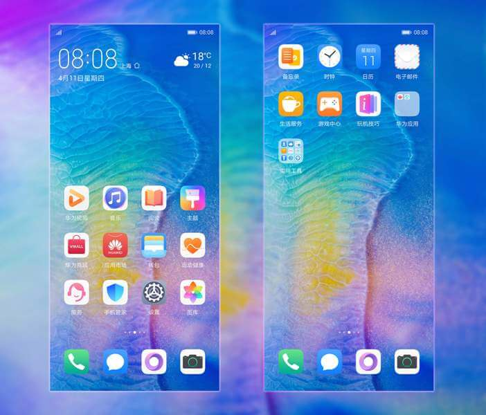 Huawei P30 and P30 Pro Themes 1