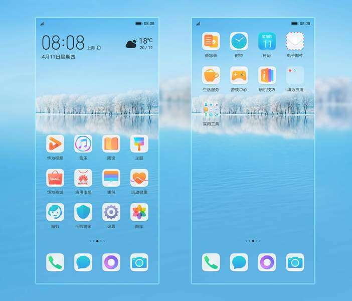 Huawei P30 and P30 Pro Themes 2
