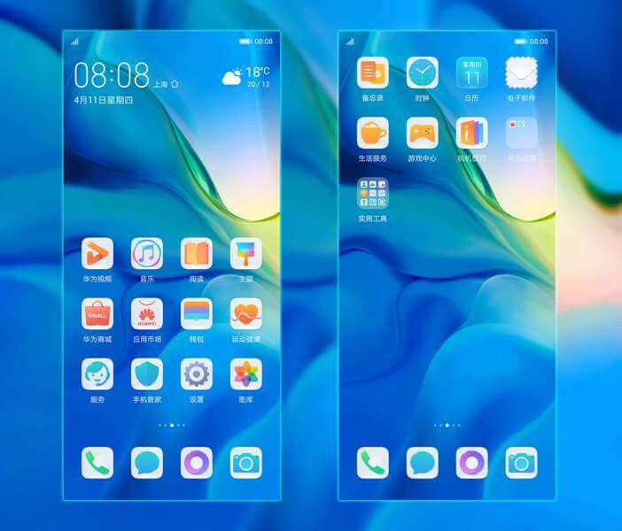 Huawei P30 and P30 Pro Themes 4
