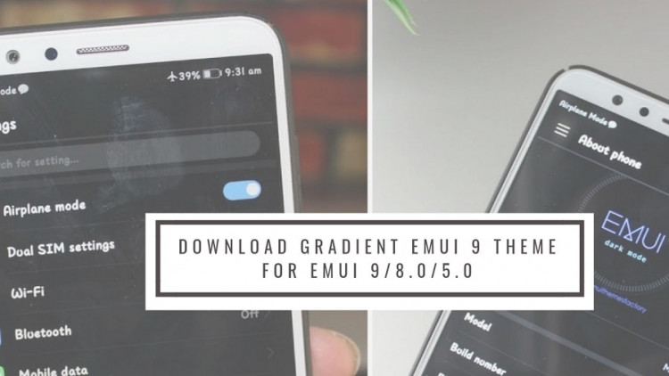 Download Gradient EMUI 9 Theme for EMUI 9/8.0/5.0