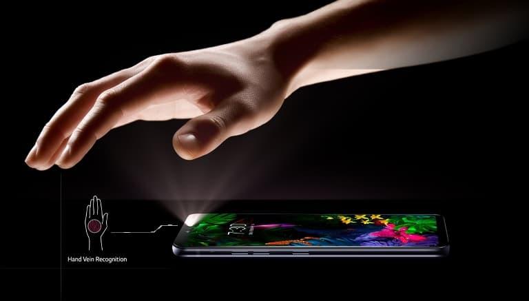 LG G8 ThinQ Sensor