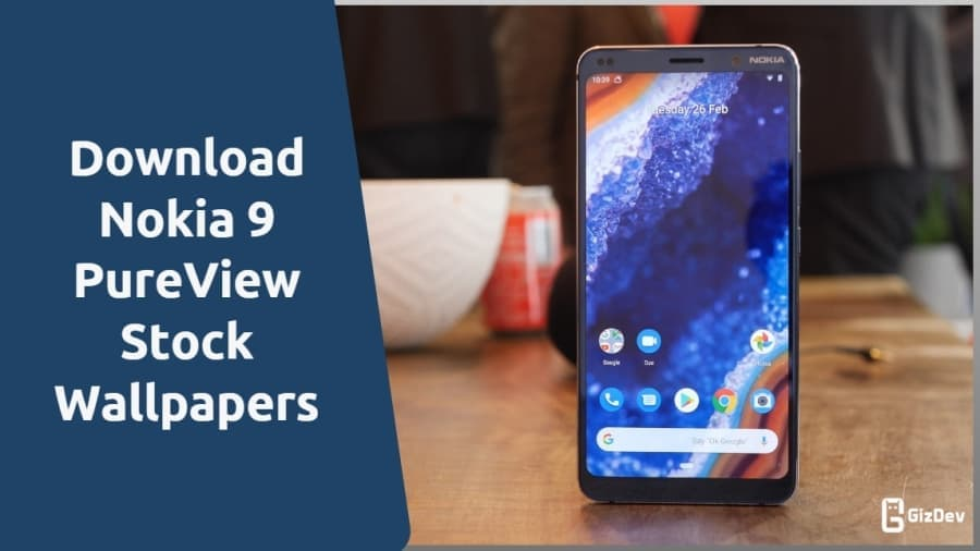 Nokia 9 PureView Stock Wallpapers