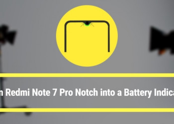 Turn Redmi Note 7 Pro Notch into a Battery Indicator