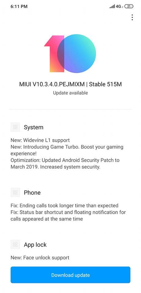 Update Screens 2