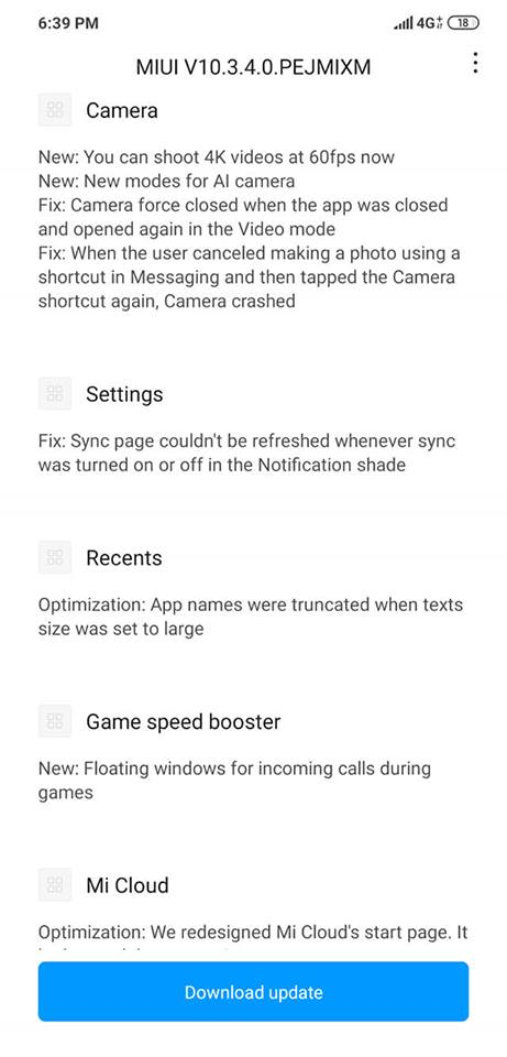 Update Screens 3