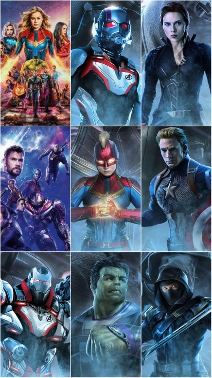 Avengers Engame Movie Walls 1