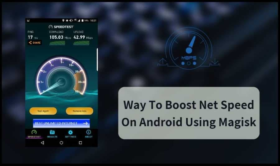 Way To Boost Net Speed On Android Using Magisk