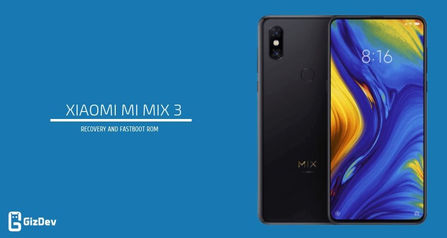 Download Xiaomi Mi Mix 3 Firmware