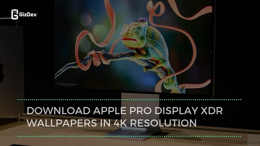 Download Apple Pro Display XDR Wallpapers In 4K Resolution