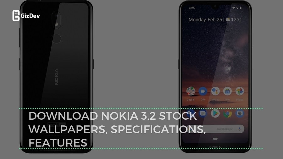 Download Nokia 3.2 Stock Wallpapers In High Resolution