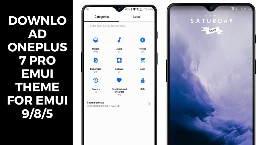 Download OnePlus 7 Pro EMUI Theme for EMUI 9/8/5