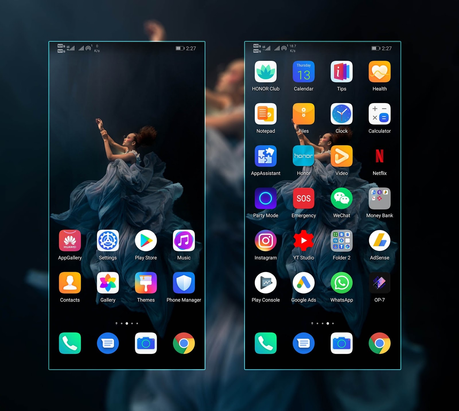 Honor 20 Pro Stock Theme Screens 2