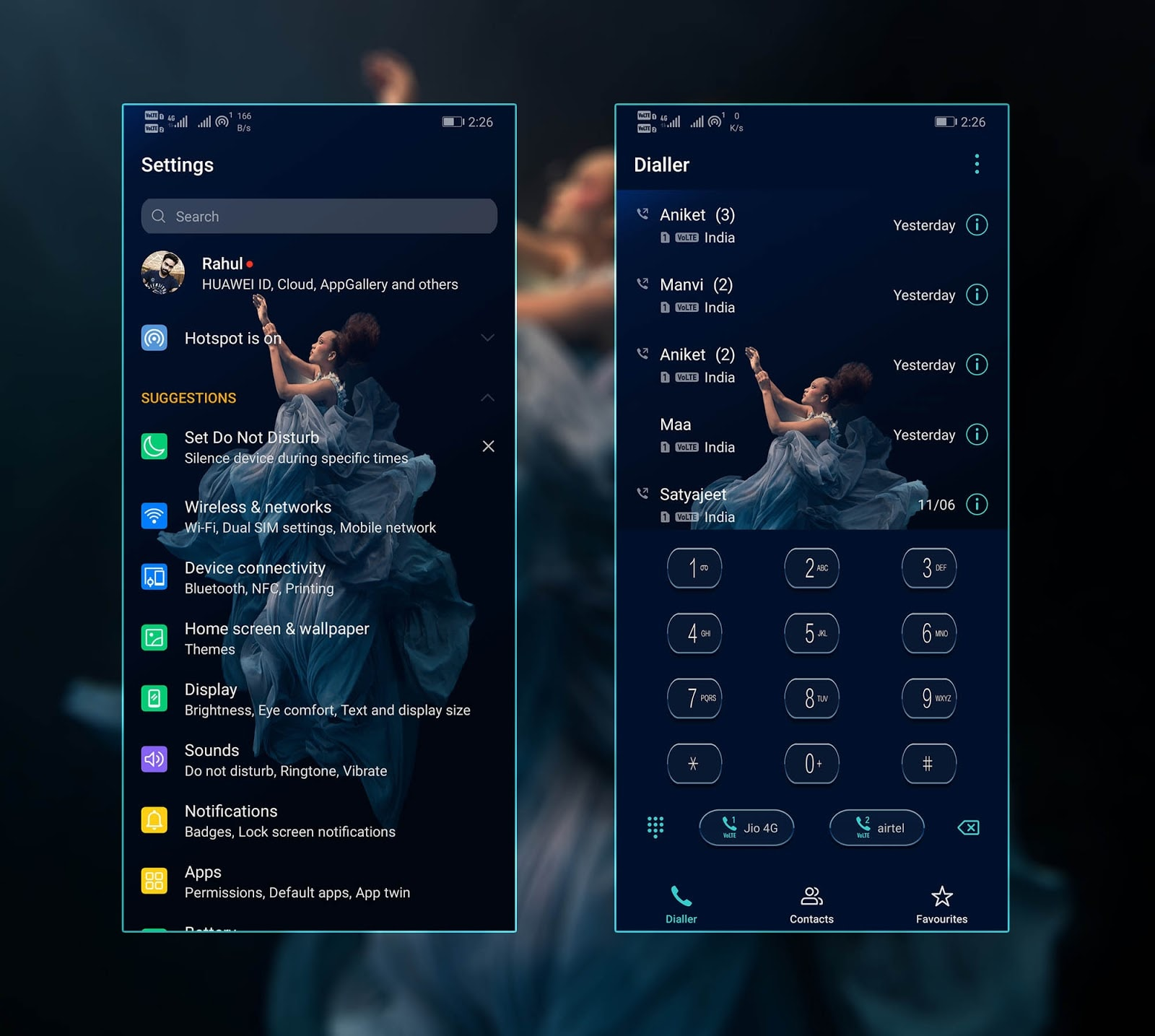 Honor 20 Pro Stock Theme Screens 4