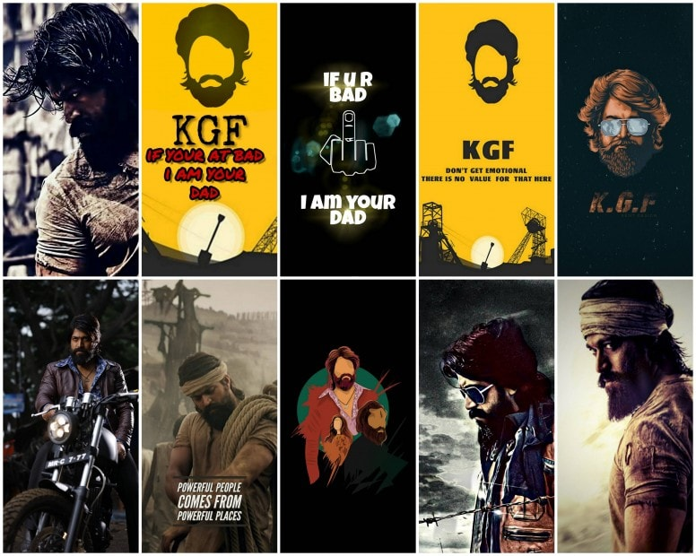 KGF Wallpapers Screens GIZDEV