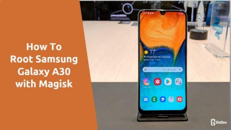 Root Samsung Galaxy A30