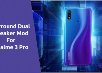 Surround Dual Speaker Mod For Realme 3 Pro