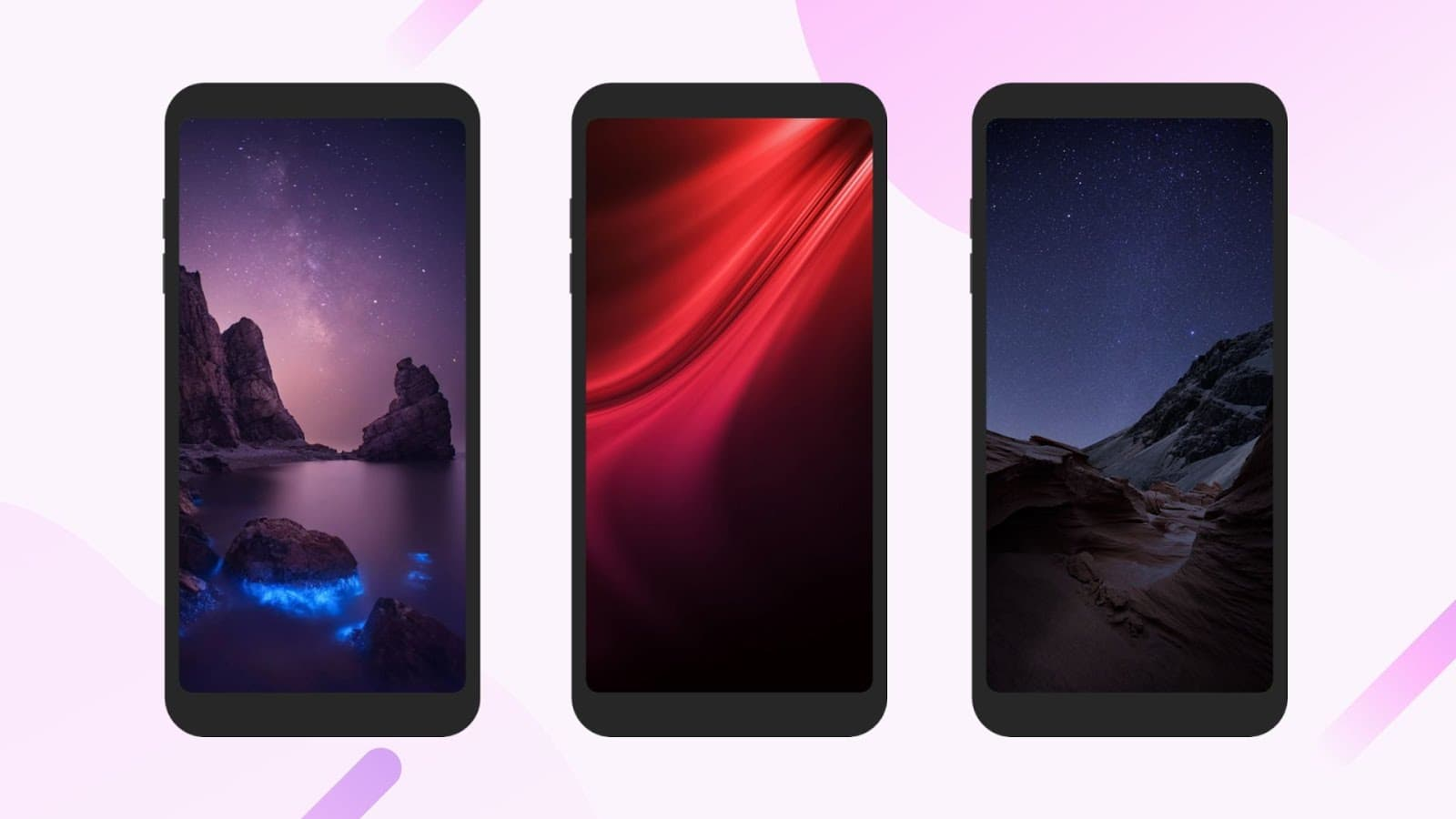Xiaomi Pocophone F1 Launcher Screens 1