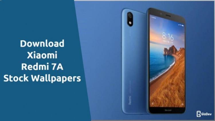 Xiaomi Redmi 7A Stock Wallpapers