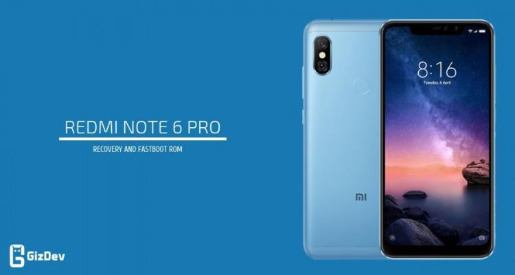 Download Xiaomi Redmi Note 6 Pro Firmware