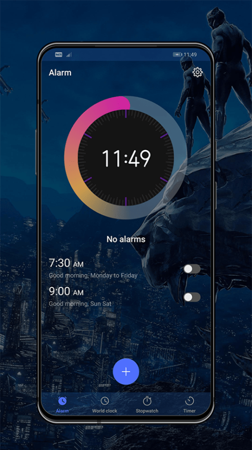 Black Panther EMUI Theme Screens 5 e1562674827130
