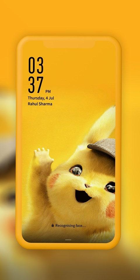 Detective Pikachu EMUI Theme Screens 2