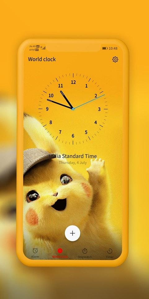 Detective Pikachu EMUI Theme Screens 3