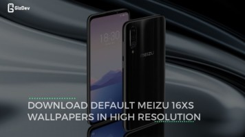 Download Default Meizu 16XS Wallpapers in High Resolution