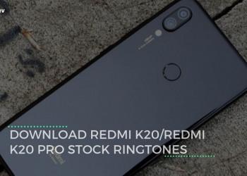 Download Redmi K20Redmi K20 Pro Stock Ringtones