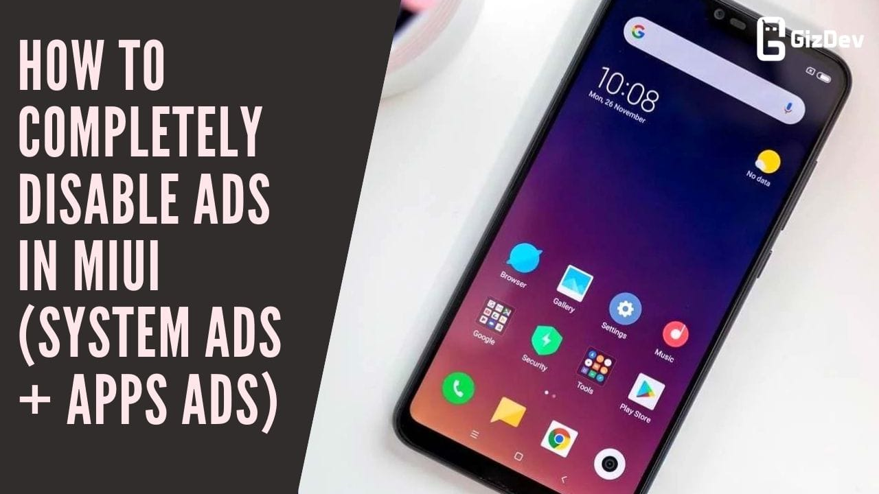 How To Completely Disable Ads In MIUI (System Ads + Apps Ads)