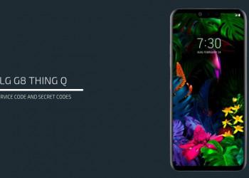 LG G8 ThinQ Service code
