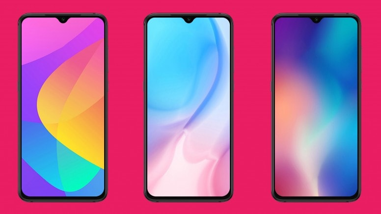 Xiaomi CC9 Walls Screens