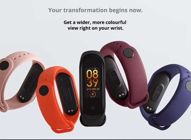 Xiaomi Mi Band 4 Smart Bracelet Bluetooth 5 0 NFC Black 20190618093120890