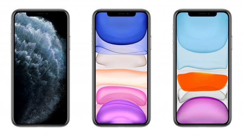 iPhone 11 Stock Wallpapers Screens