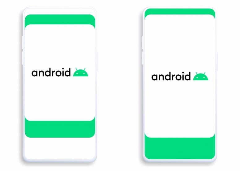 Android 10 Wallpapers New design Screens