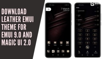Download Leather EMUI Theme for EMUI 9.0 And Magic UI 2.0