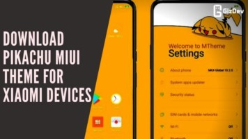 Download Pikachu MIUI Theme For Xiaomi Devices