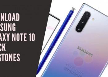 Download Samsung Galaxy Note 10 Stock Ringtones