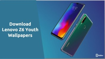 Lenovo Z6 Youth Stock Wallpapers